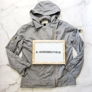 Marc Jacobs asymmetrical hooded jacket